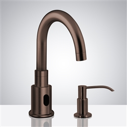 Bathselect Light Oil Rubbed Bronze Bathroom sensor motion faucets