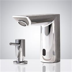 Chrome Bathroom sensor motion faucets