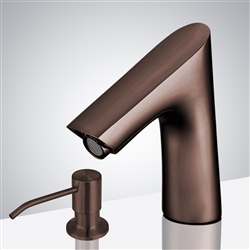 Light Oil Rubbed Bronze Bathroom sensor motion faucets