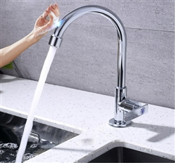 Chatou Chrome Finish With Touch Sensor Kitchen Sink Faucet