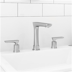 Malaga Dual Handle Bathroom Sink Faucet
