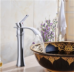 Valladolid Waterfall Bathroom Sink Faucet with Drain
