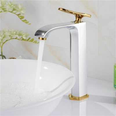 Milan Single Handle Bathroom Sink Faucet