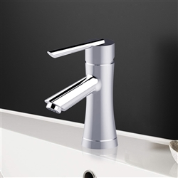 Lille Single Handle Deck Mounted Bathroom Sink Faucet