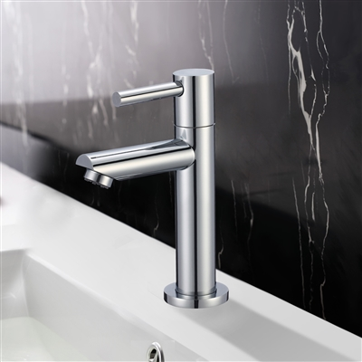 Rennes Single Handle Deck Mount Bathroom Sink Faucet