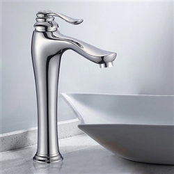 Dijon Single Handle Deck Mounted Bathroom Sink Faucet