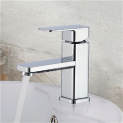 Amiens Single Handle Deck Mount Bathroom Sink Faucet
