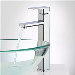Orleans Single Handle Deck Mounted Bathroom Sink Faucet