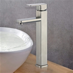 Montreuil Single Handle Deck Mount Bathroom Sink Faucet