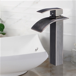 Milan Single Handle Deck Mount Bathroom Sink Faucet