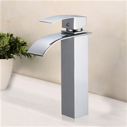 Naples Single Handle Deck Mount Bathroom Sink Faucet