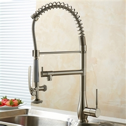 Liguria Single Handle Deck Mount Kitchen Sink Faucet