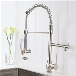 Parma Single Handle Deck Mount Kitchen Sink Faucet