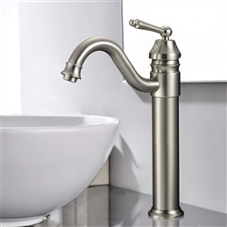 Florence Single Handle Deck Mount Bathroom Sink Faucet