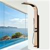 Almeria Shower Panel with Rainfall & Body Massage Jet