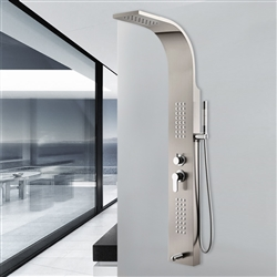Cordoba Shower Panel with Rain fall & Body Massage Jet