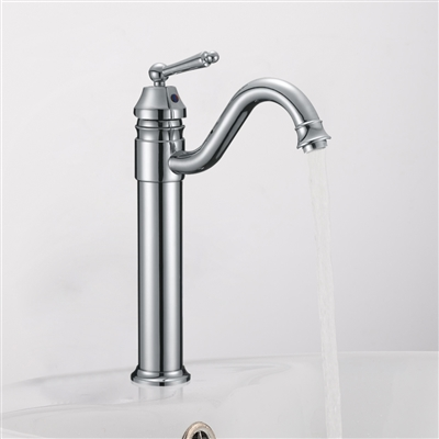 Palermo Single Handle Deck Mounted Bathroom Sink Faucet