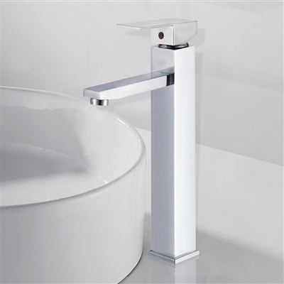 Catania Single Handle Deck Mounted Bathroom Sink Faucet