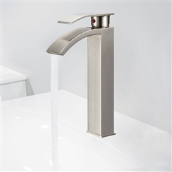 Genoa Single Handle Deck Mount Bathroom Sink Faucet