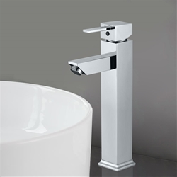 Modena Single Handle Deck Mount Bathroom Sink Faucet