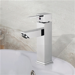 Verona Single Handle Deck Mount Bathroom Sink Faucet