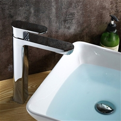 Vicenza Single Handle Deck Mount Bathroom Sink Faucet