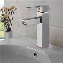 Livorno Single Handle Deck Mounted Bathroom Sink Faucet