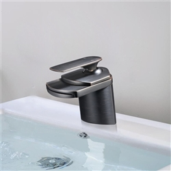 Ancona Single Handle Deck Mount Bathroom Sink Faucet