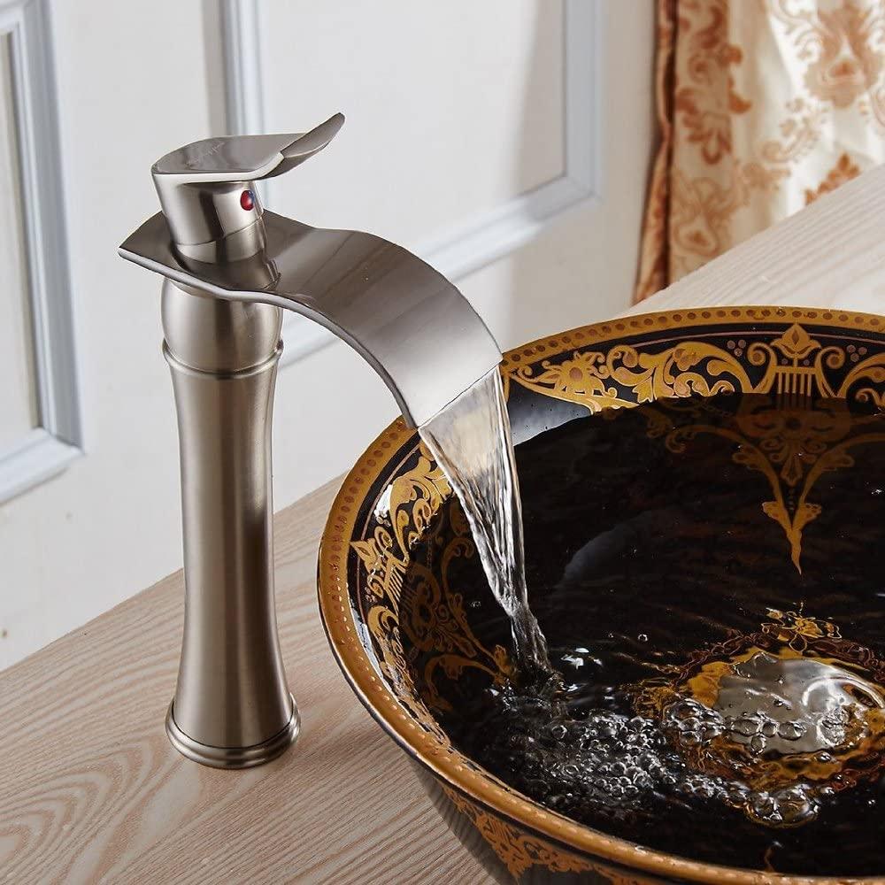 Shop Alava Single Handle Bathroom Sink Faucet With Drain At Bathselect