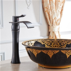 Palencia Single Handle Bathroom Sink Faucet with Drain
