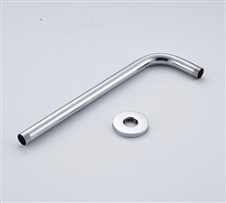 Tourcoing Wall Mounted Shower Arm in Chrome Finish