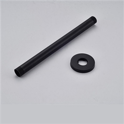 Perpignan Wall Mounted Shower Arm Oil Rubbed Bronze Finish
