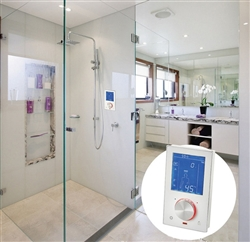 Luxury Digital Thermostatic Shower Valve with LCD Touch Screen