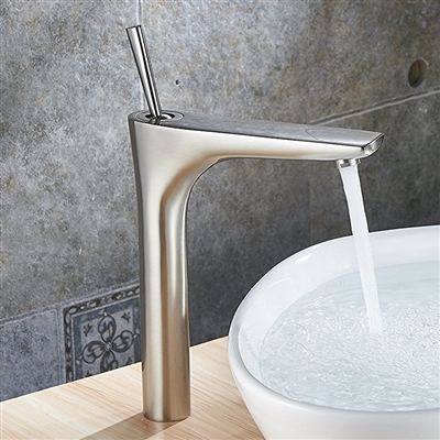 Segovia Deck-Mount Bathroom Sink Faucet