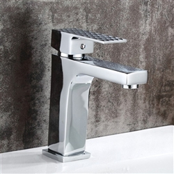 Messina-Reggio Calabria Single Handle Deck Mount Bathroom Sink Faucet
