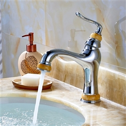 Marseille Single Handle Bathroom Sink Faucet