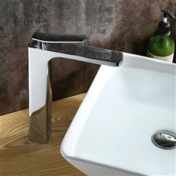 Pisa-Livorno Single Handle Deck Mount Bathroom Sink Faucet