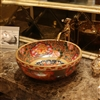 Ethyopean Ancient Ceramic Bathroom Sink