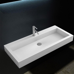 Bologna Rectangular Wall Hung Sink