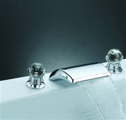 Widespread Waterfall Faucet