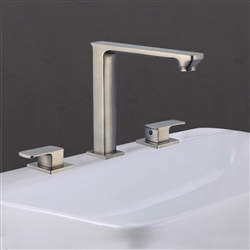 Florence Dual Handle Solid Brass Bathroom Sink Faucet