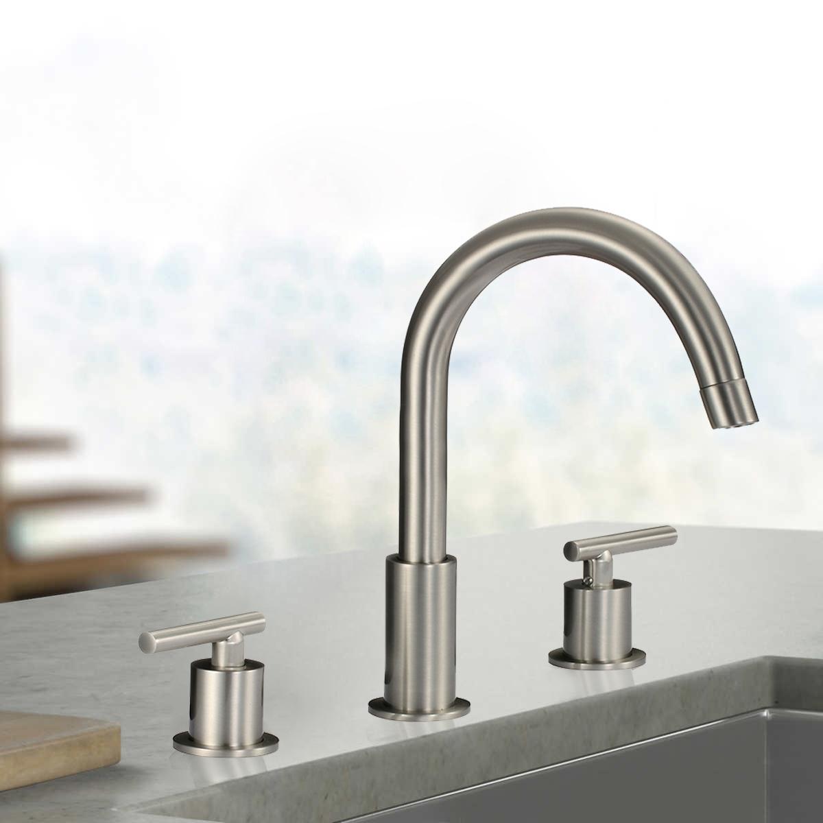 Genoa Dual Handle Bathroom Sink Faucet