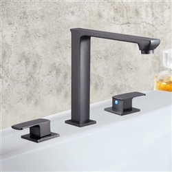 Genoa Dual Handle Solid Brass Bathroom Sink Faucet