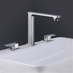 Naples Dual Handle Solid Brass Bathroom Sink Faucet