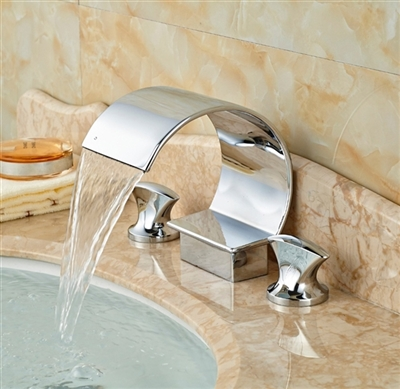 Nanterre Dual Handle Bathroom Sink Faucet