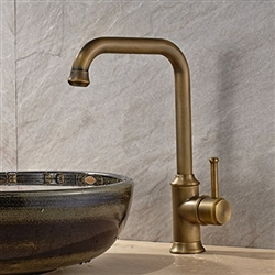 Teruel Single Handle Bathroom Sink Faucet