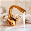 Nord Antique Double Handle Bathroom Sink Faucet
