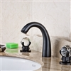 Elateia Oil Rubbed Bronze Bathroom Sink Faucet