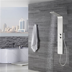 Vienna Thermostatic Bath Shower Panel with Faucet & Hand Shower