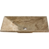 Lyon Travertine Bathroom Vessel Sink